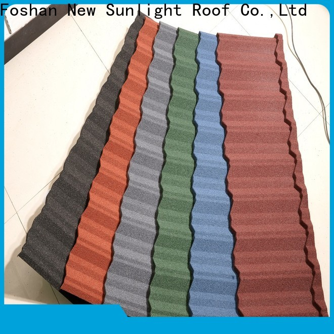 wholesale house roof tiles metal factory for Building Sports Venues