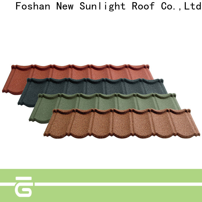 New Sunlight Roof latest tile roofing contractors supply for warehouse market
