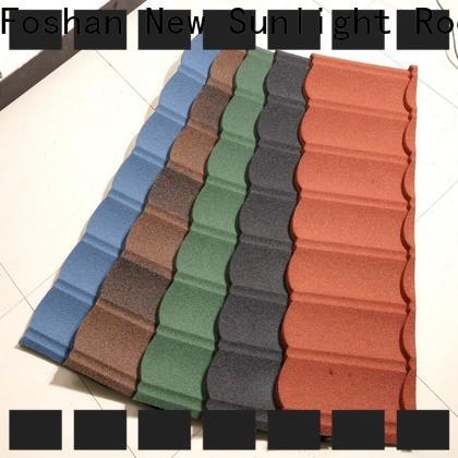 custom steel roofing companies coated supply for industrial workshop