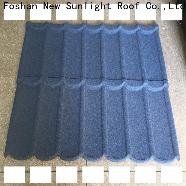 New Sunlight Roof metal decra roofing prices for garden construction