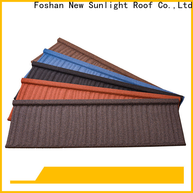 New Sunlight Roof tiles metal tile roofing sheets manufacturers for Office