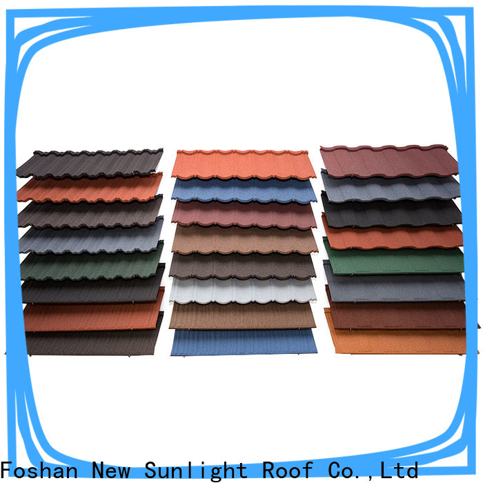 New Sunlight Roof high-quality metal tiles roof for Office