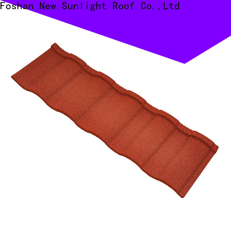 New Sunlight Roof coated building materials manufacturers factory for Courtyard