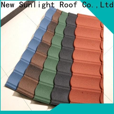 new stone coated steel shingles for warehouse market