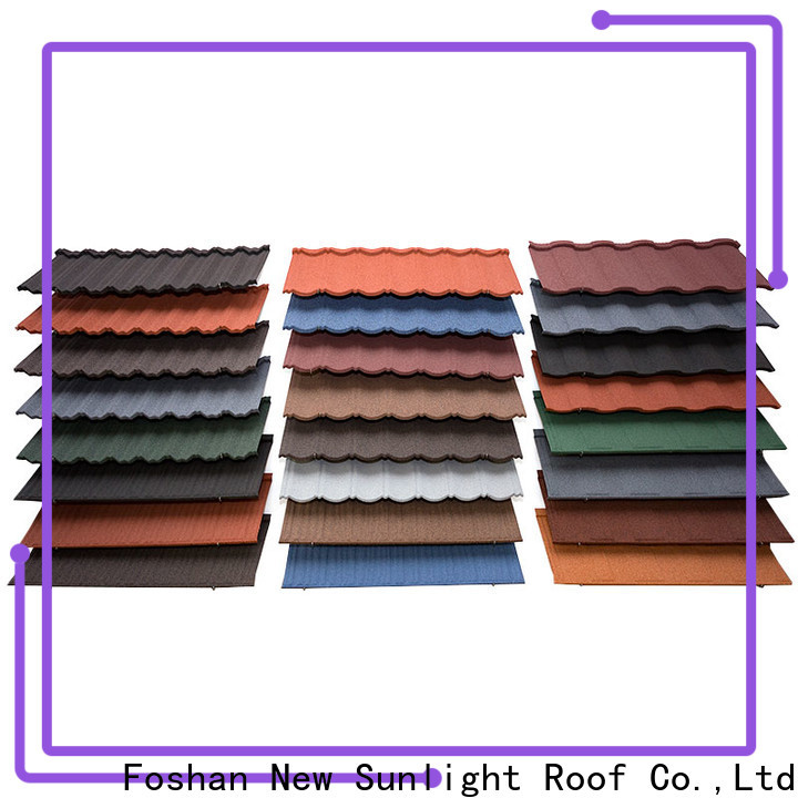 New Sunlight Roof tiles stone coated roofing products for business for Building Sports Venues