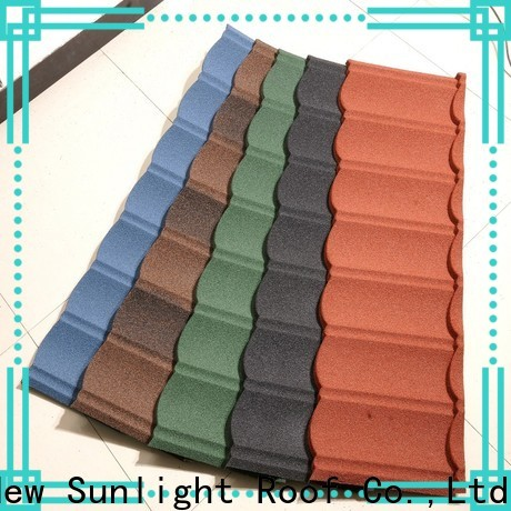 New Sunlight Roof metal metal shingle roof cost for business for garden construction