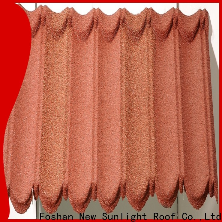New Sunlight Roof metal stone coated shingles company for greenhouse cultivation
