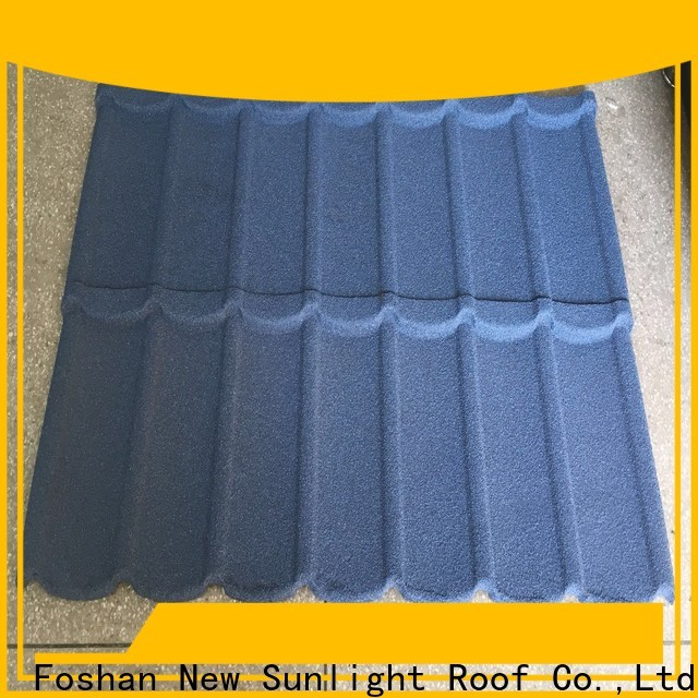 New Sunlight Roof tile coated metal roofing sheets supply for warehouse market