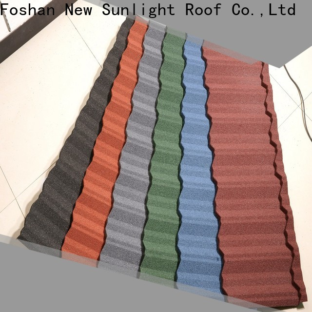 New Sunlight Roof stone classic products roofing suppliers for Hotel