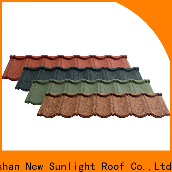 New Sunlight Roof coated roof shingle brands suppliers for warehouse market