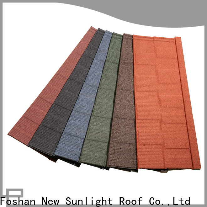 New Sunlight Roof material steel roofing shingles suppliers for Building Sports Venues