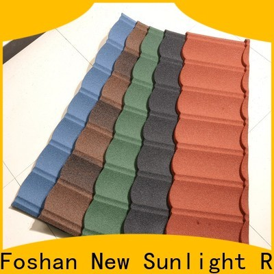New Sunlight Roof custom stone coated steel shingles for greenhouse cultivation
