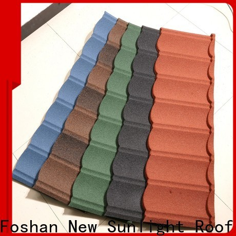wholesale metal roofing supplies colorful for business for garden construction