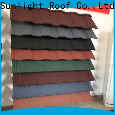 New Sunlight Roof latest metal tile roof panels supply for warehouse market