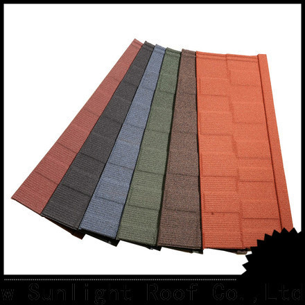 New Sunlight Roof metal roofing shingles manufacturers suppliers for Office