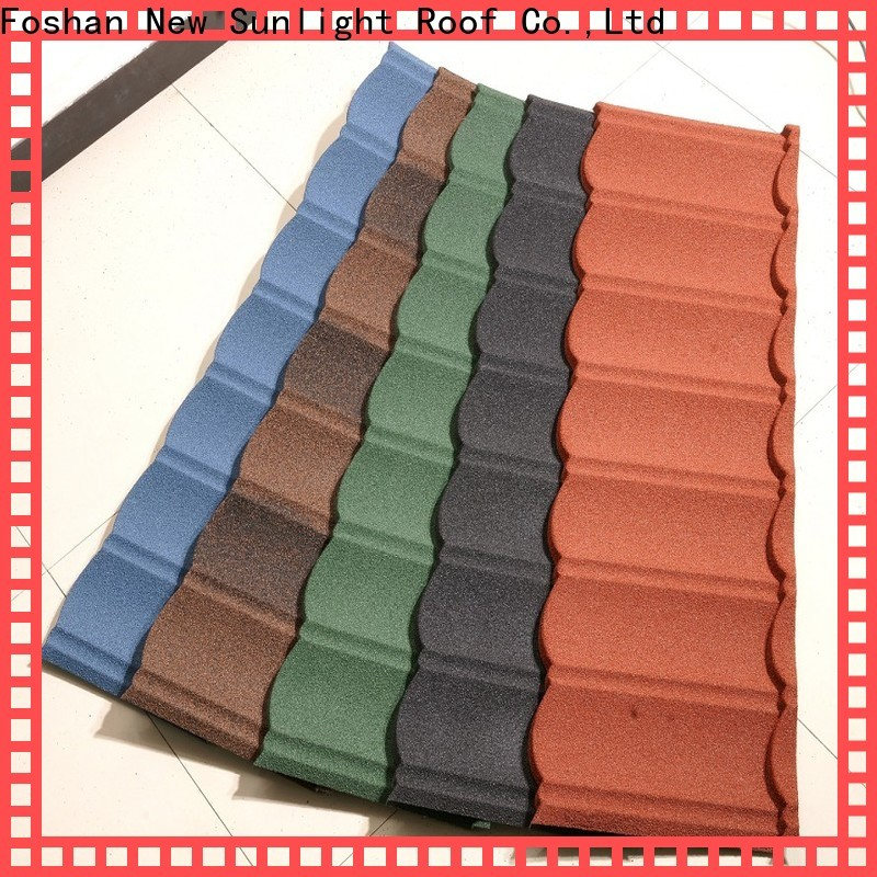 New Sunlight Roof bond sheet metal roofing systems suppliers for warehouse market