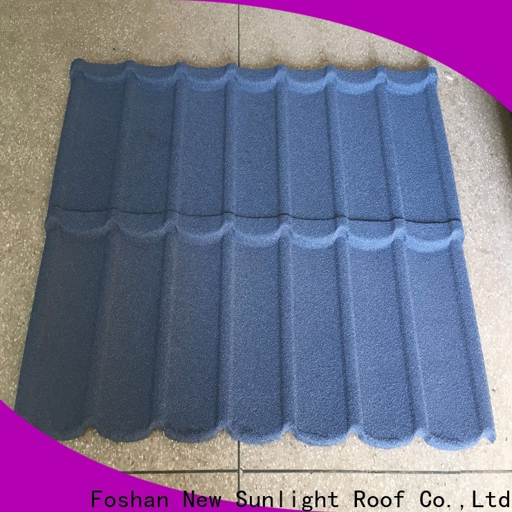 New Sunlight Roof latest coated roofing sheets manufacturers for garden construction