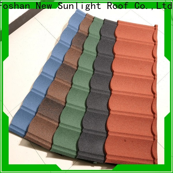 New Sunlight Roof stone coated shingles supply for greenhouse cultivation