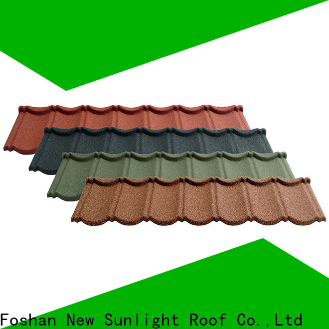 New Sunlight Roof latest roof tiles factory for warehouse market