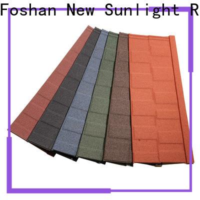 New Sunlight Roof top best shingles brand supply for School