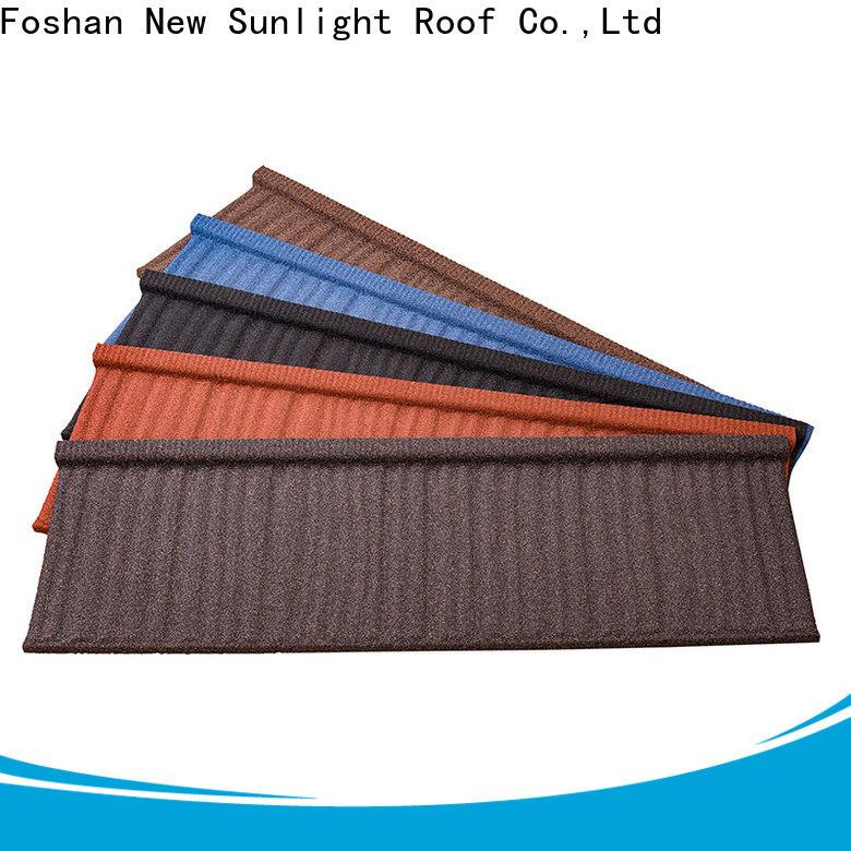 New Sunlight Roof metal lightweight tiles suppliers for School
