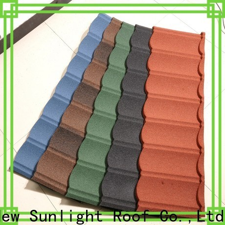 new stone coated steel shingles factory for industrial workshop