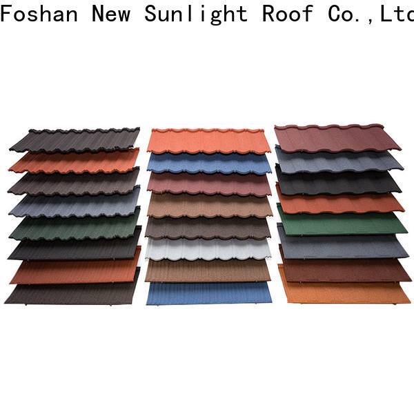 wholesale stone coated roof tiles roof factory for School
