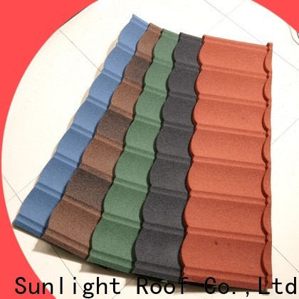 New Sunlight Roof wholesale decra roofing sheets for business for warehouse market