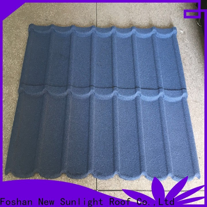 New Sunlight Roof top decra roofing material manufacturers for warehouse market