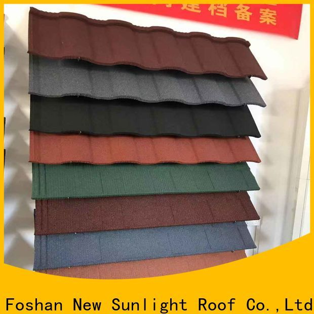 wholesale coated roofing sheets coated company for industrial workshop
