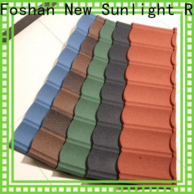 New Sunlight Roof wholesale stone coated steel shingles supply for industrial workshop