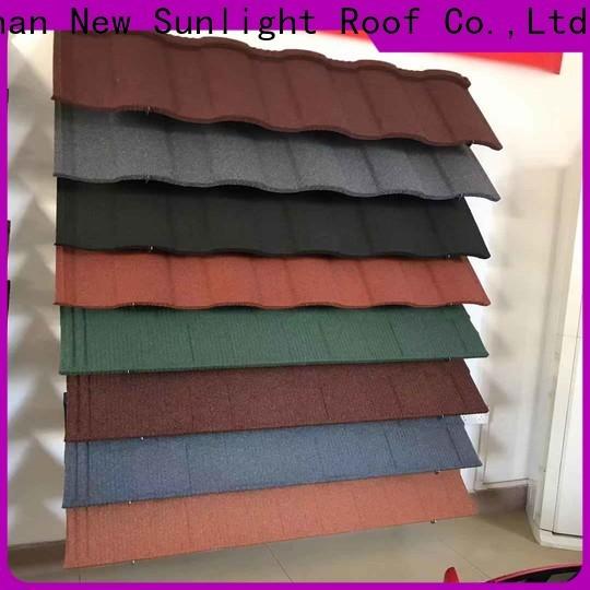 New Sunlight Roof coated steel roofing contractors manufacturers for garden construction
