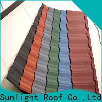 New Sunlight Roof custom roofing ridge tiles for School