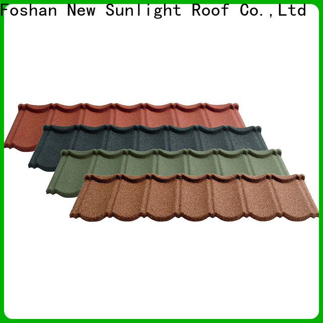 New Sunlight Roof wholesale decra roofing sheets supply for warehouse market
