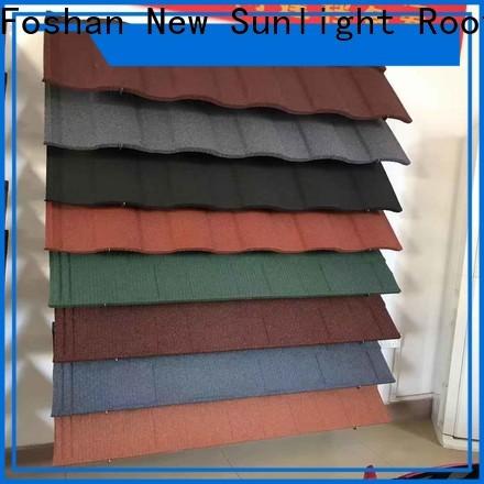 New Sunlight Roof best decra roofing prices for garden construction