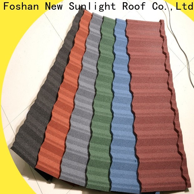 New Sunlight Roof best classic metal roofing systems suppliers for School