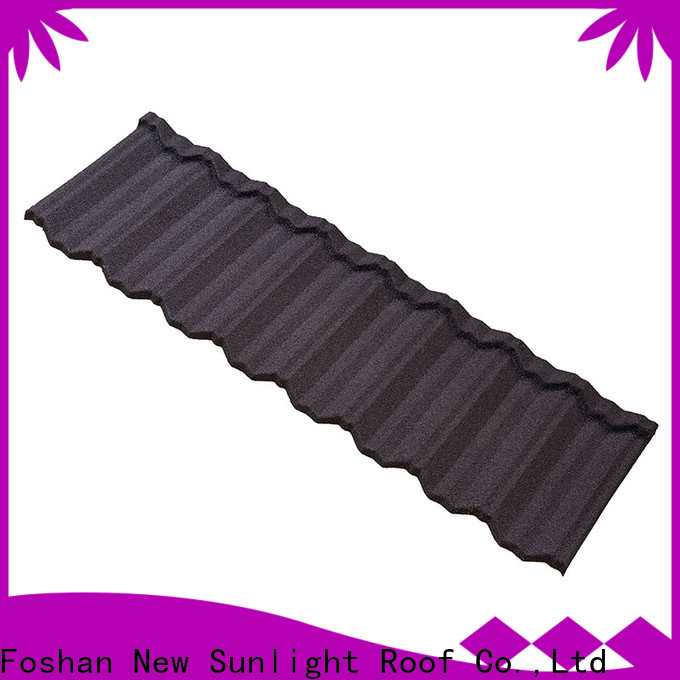 best stone coated steel roof stone manufacturers for Villa