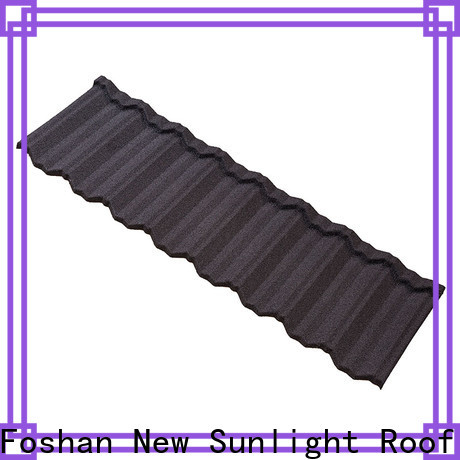 New Sunlight Roof metal new roofing materials manufacturers for Hotel