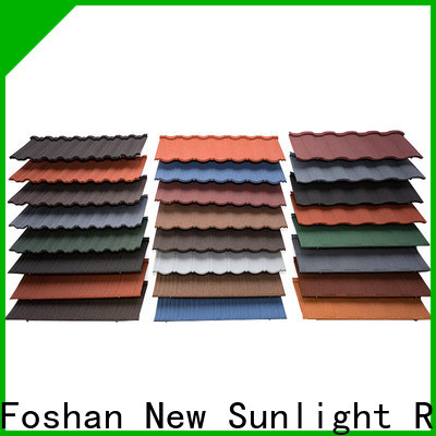 high-quality metal tile roof shingles materials company for Villa
