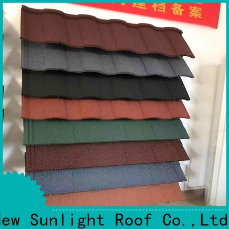 New Sunlight Roof roof shingle brands for garden construction
