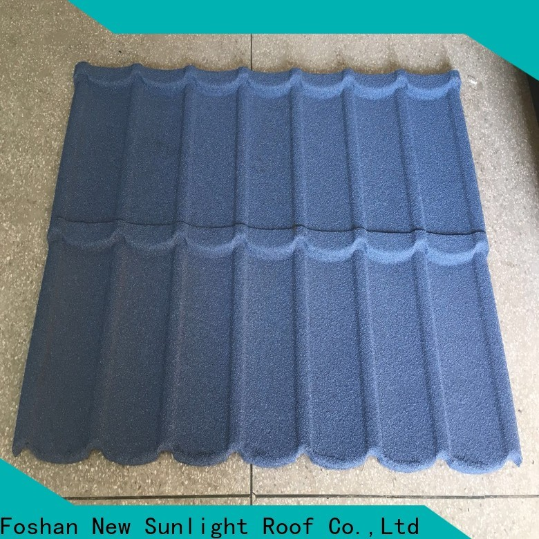 New Sunlight Roof coated painted steel roofing factory for warehouse market