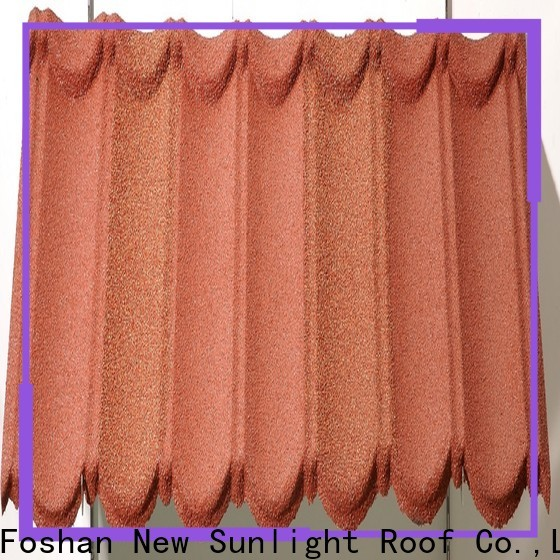 New Sunlight Roof high-quality metal shingle roof cost for industrial workshop