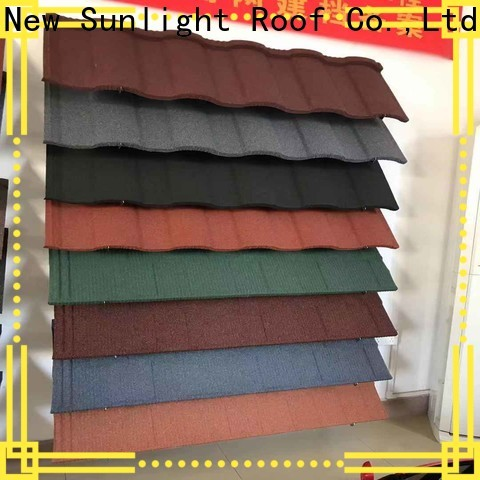 New Sunlight Roof metal roofing manufacturers for industrial workshop