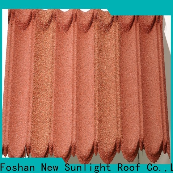 New Sunlight Roof stone coated steel roofing manufacturers for warehouse market