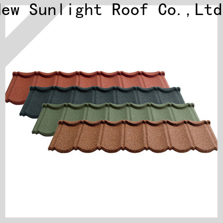New Sunlight Roof top shingle look metal roof for greenhouse cultivation
