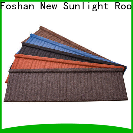 New Sunlight Roof custom metal tiles factory for Building Sports Venues