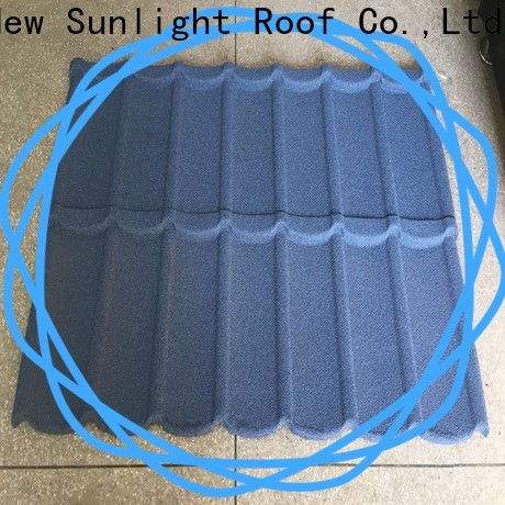New Sunlight Roof colorful roof shingle brands factory for industrial workshop