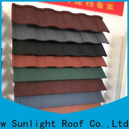 New Sunlight Roof roofing wholesale building material supply for garden construction