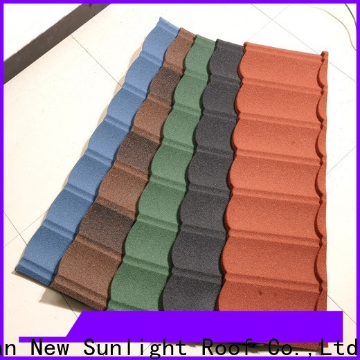 New Sunlight Roof stone stone coated shingles manufacturers for greenhouse cultivation