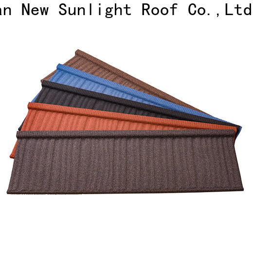 New Sunlight Roof wholesale metal tile roofing sheets for business for Office